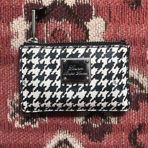 Ralph Lauren Houndstooth Wallet ID Case